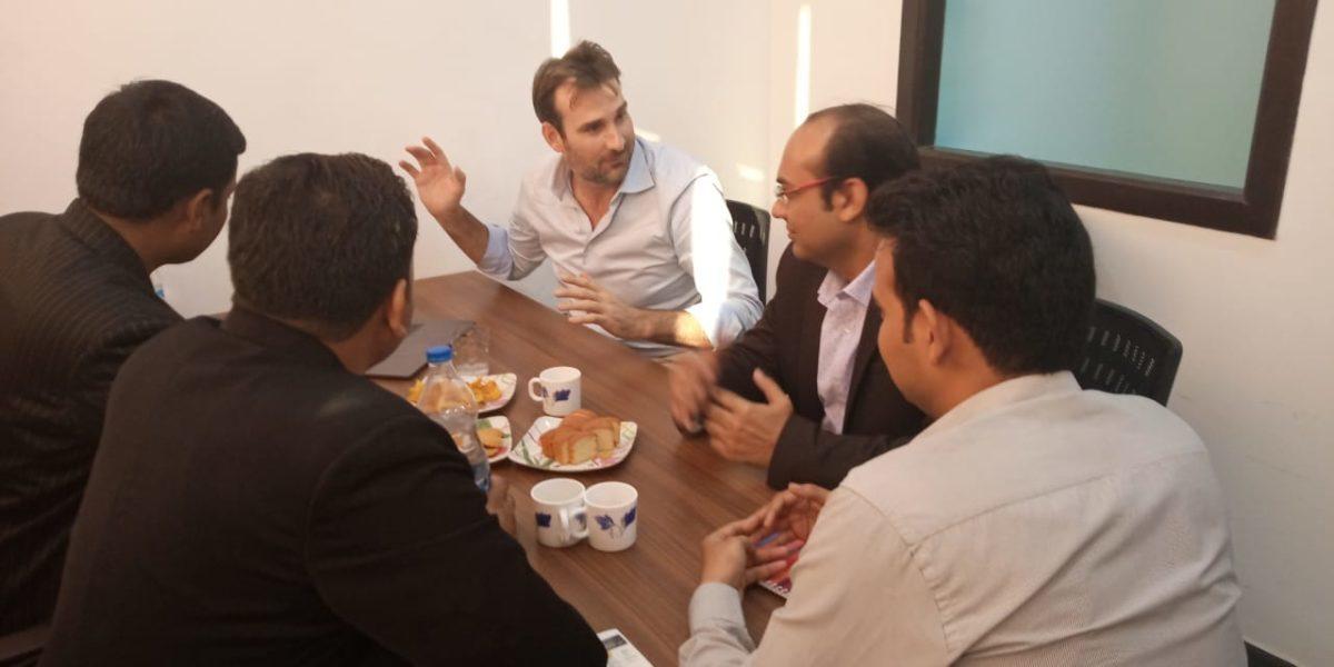 Client Visit @ NMT Technologies Pvt Ltd